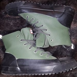 Hunter for Target waterproof hi canvas shoe